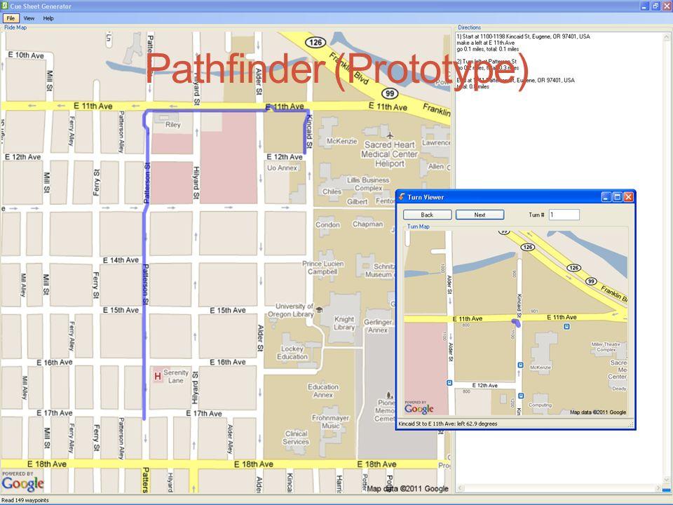 Pathfinder a cue sheet generator Members: Kurt, Hang, Weston