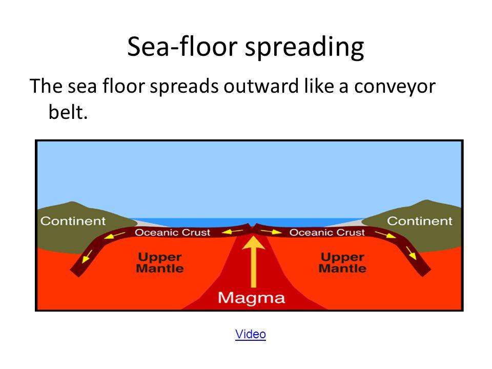 Sea Floor Spreading Section 14 Mid Ocean Ridges In The Mid 1900s