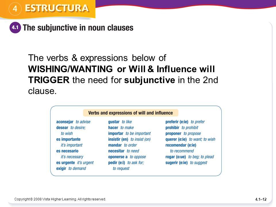Some Basics About Sentences W The Subjunctive Sentences W