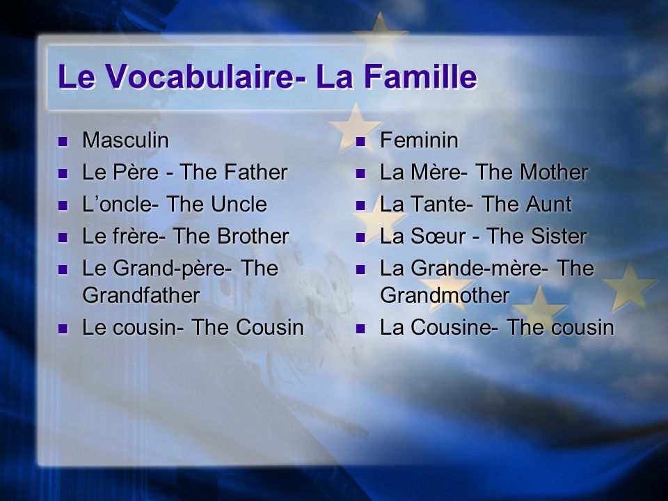 The definite article is also used in French to indicate the general sense of a noun.