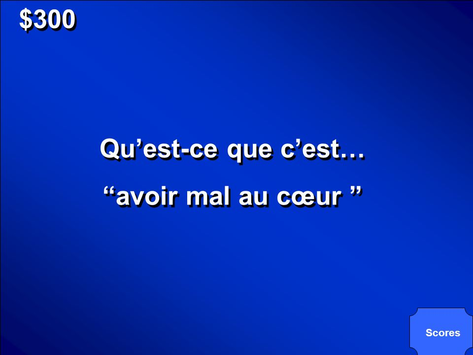 © Mark E. Damon - All Rights Reserved $300 Quest-ce que cest… Un synonym pour vomir