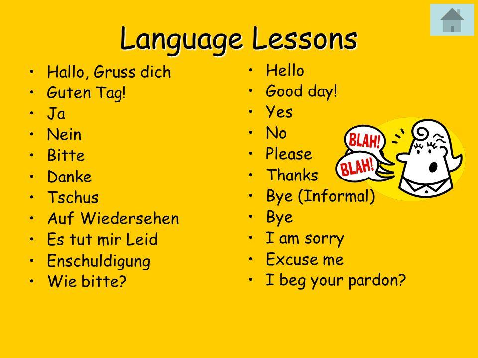 Willkommen Zu Deutschland Guten Tag History Language