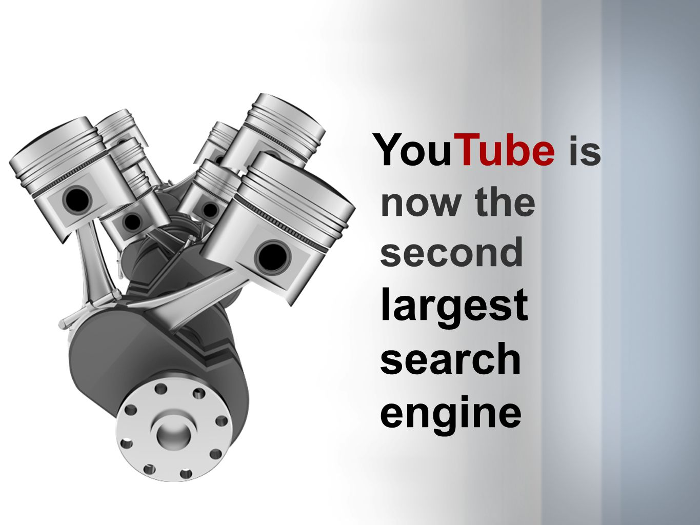 YouTube is now the second largest search engine