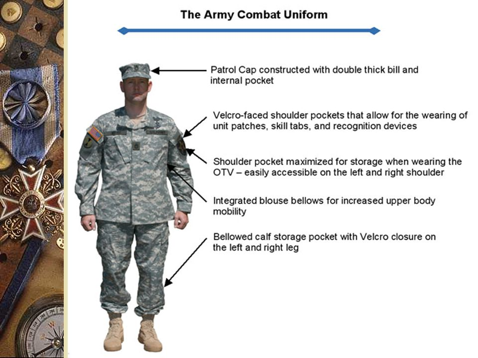 Army Combat Uniform (ACU) Briefing - ppt video online download 3ef09097485