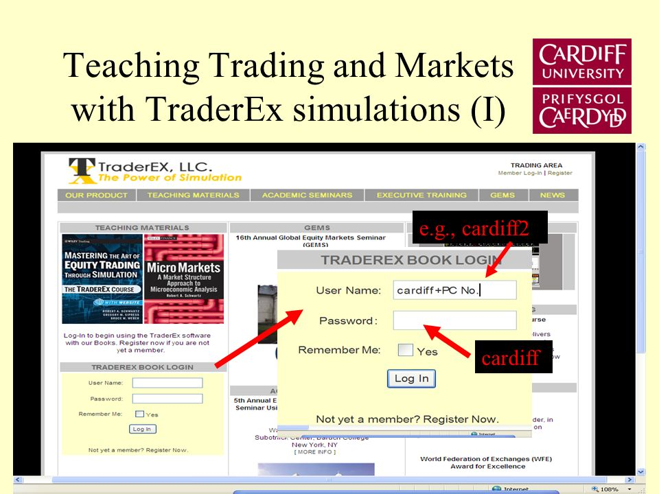 Computers Role Establish market background –Generate order flow –Update display and bid-ask quotes 2) Give participants orders to execute 3) Maintain transactions records for subsequent analysis on –Participants order placement decisions –Market quality (e.g., bid-ask spread)