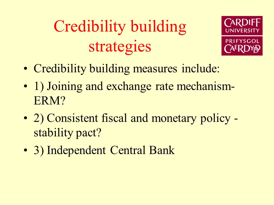 This lecture extends the analysis of reputation and credibility to the theory of central bank independence