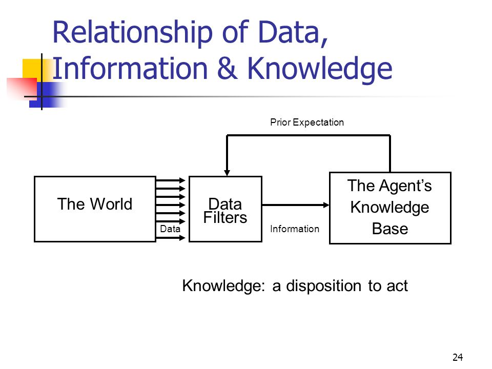23 Data, Information & Knowledge in Use