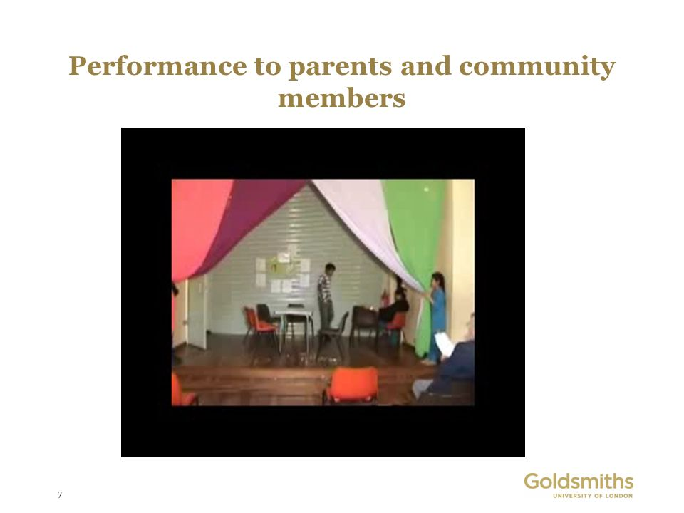 7 Performance to parents and community members