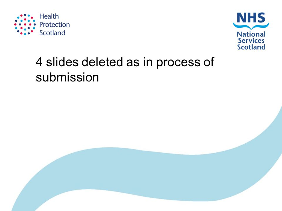 4 slides deleted as in process of submission