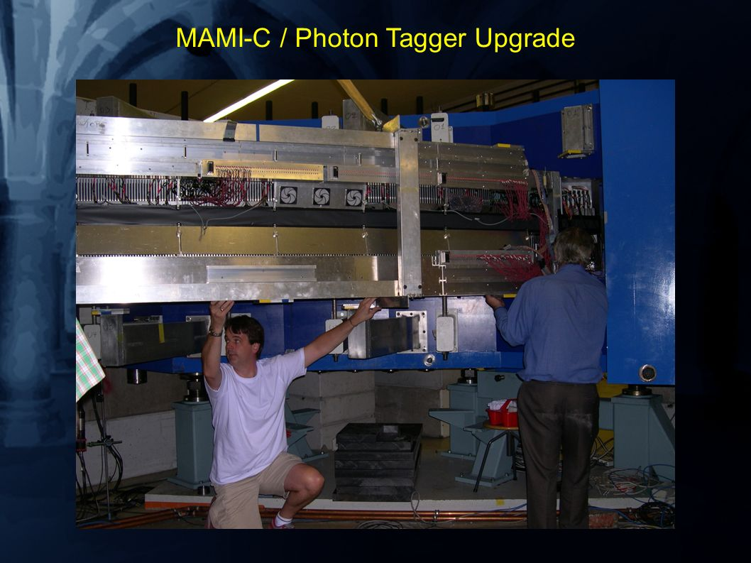 MAMI-C / Photon Tagger Upgrade