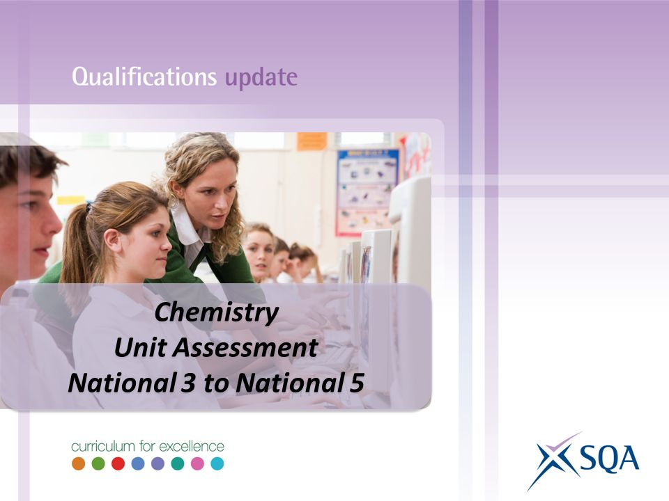 Chemistry Unit Assessment National 3 to National 5 Chemistry Unit Assessment National 3 to National 5
