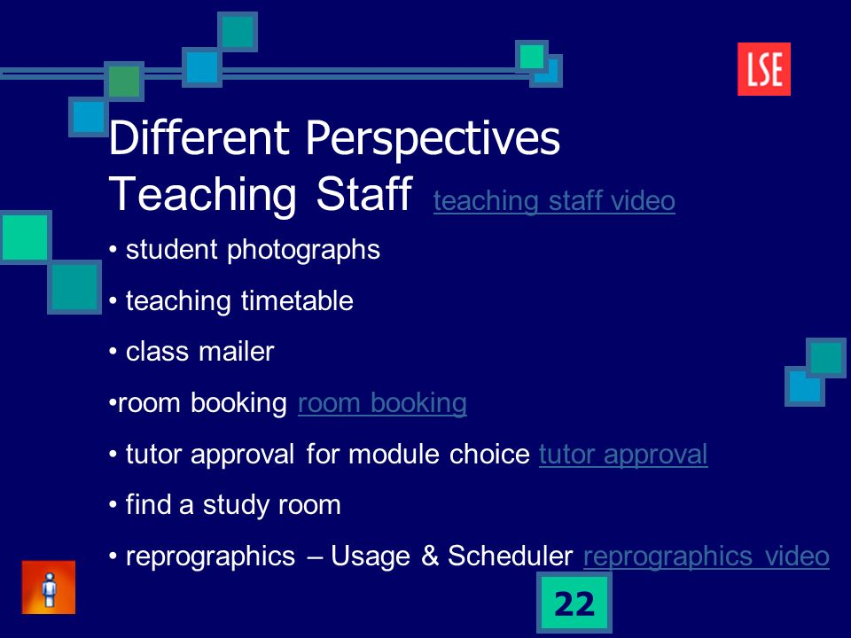 22 student photographs teaching timetable class mailer room booking tutor approval for module choice tutor approvaltutor approval find a study room reprographics – Usage & Scheduler reprographics videoreprographics video Different Perspectives Teaching Staff teaching staff videoteaching staff video