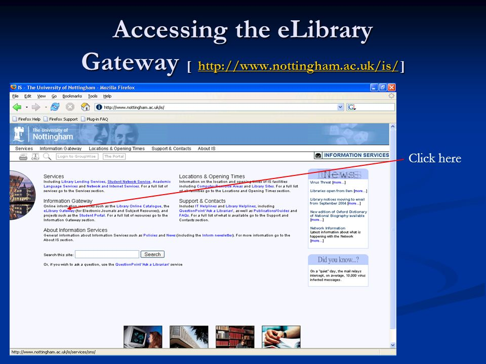 Searching for literature online Today we will go through some ways of obtaining published papers directly from the internet Today we will go through some ways of obtaining published papers directly from the internet These are articles that have been published in hard-copy journals but have been scanned and made available to users at UON These are articles that have been published in hard-copy journals but have been scanned and made available to users at UON You may not be able to access these resources off-campus You may not be able to access these resources off-campus