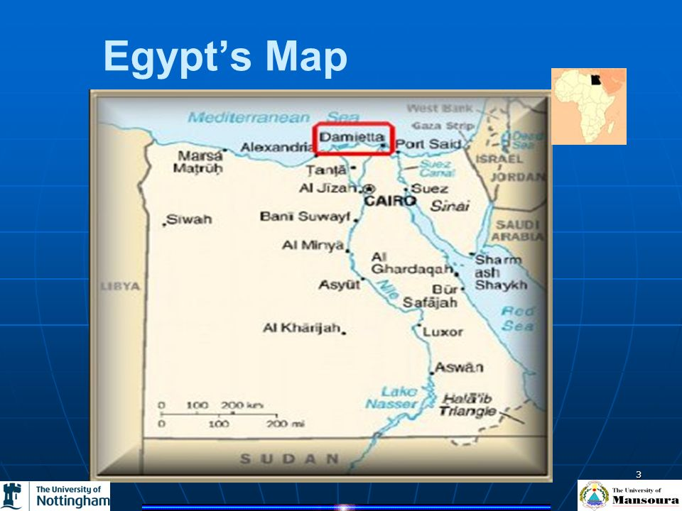 Dr Ahmed El-Zeki 3 Egypts Map