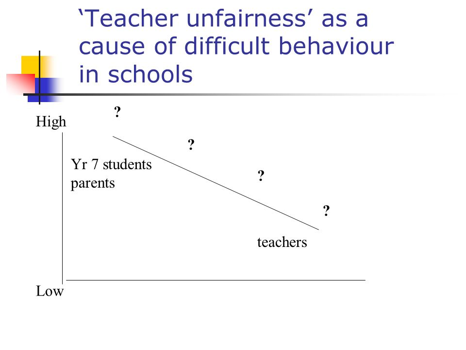 Elton Report: Our evidence suggests that teachers picture of parents is generally very negative.