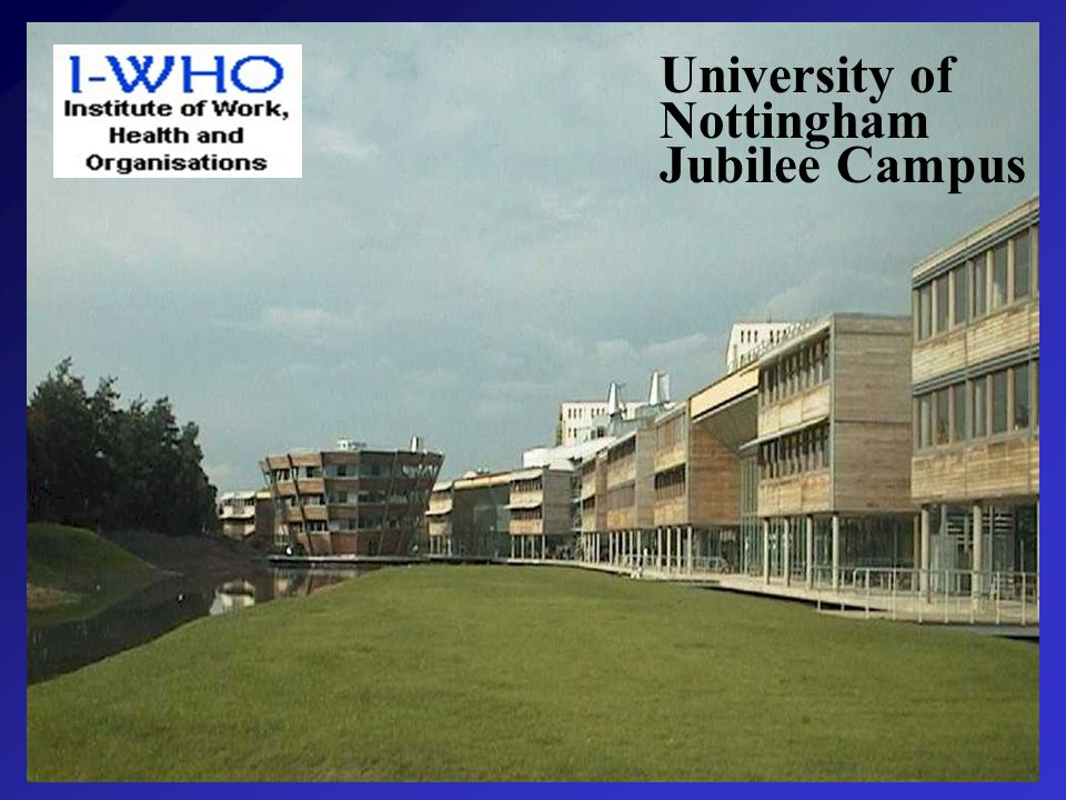 University of Nottingham Jubilee Campus
