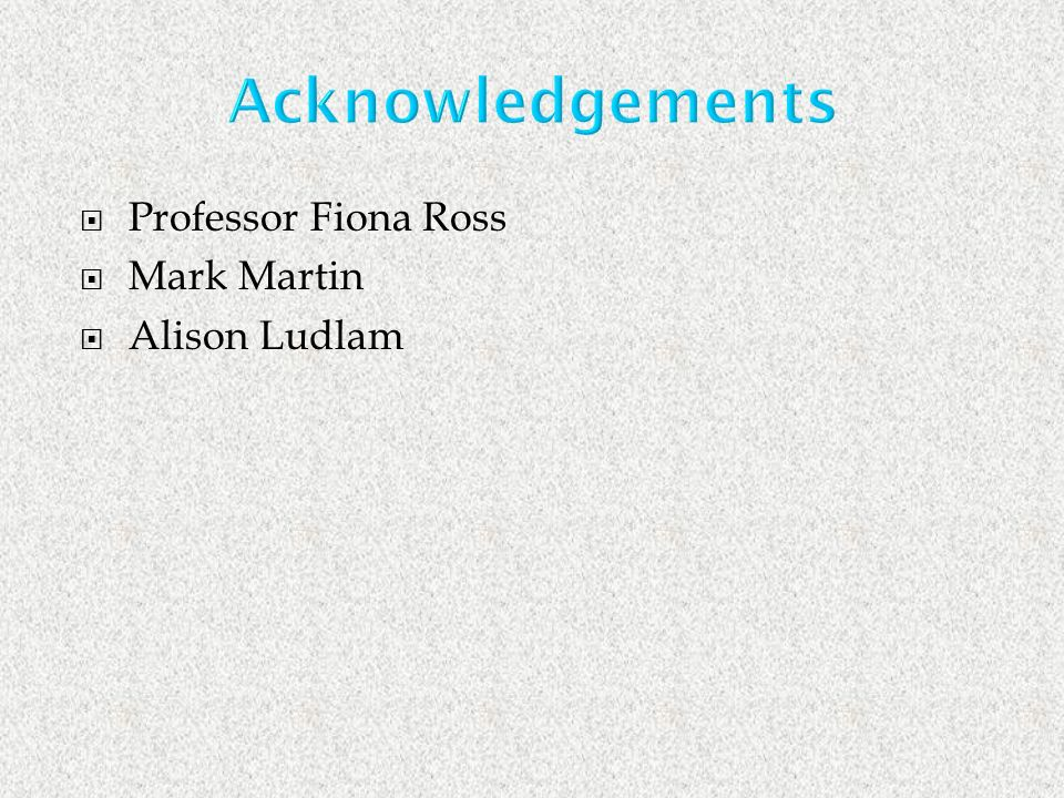 Professor Fiona Ross Mark Martin Alison Ludlam