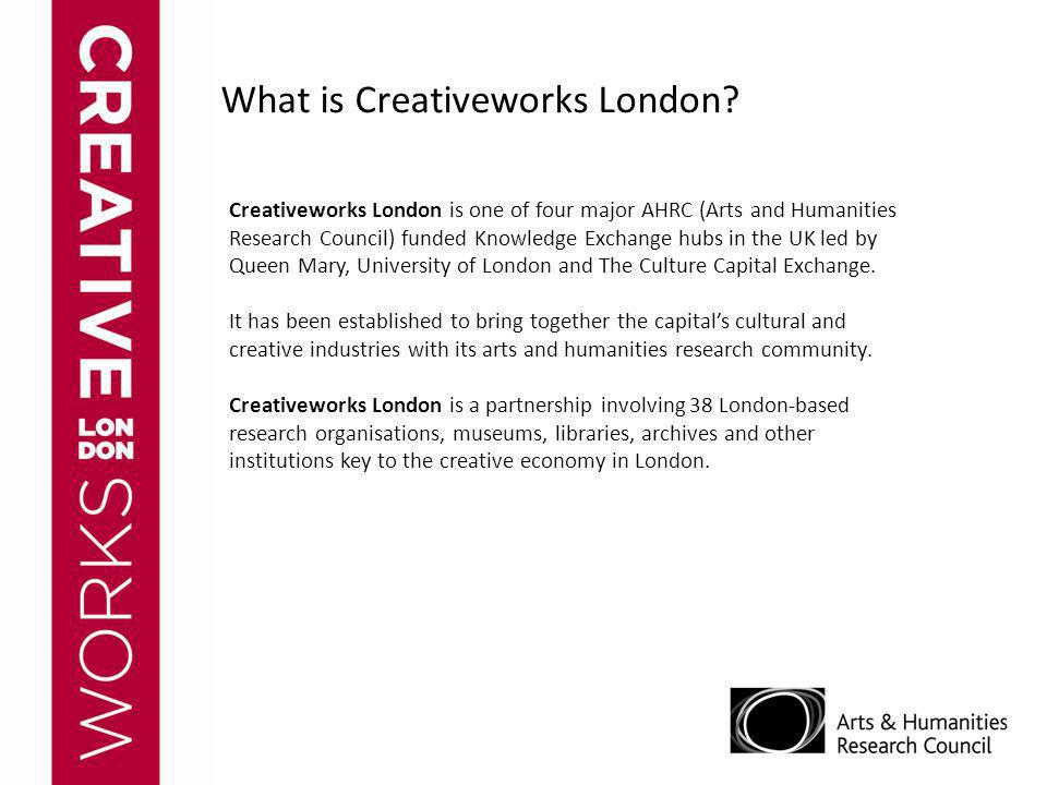 What is Creativeworks London.