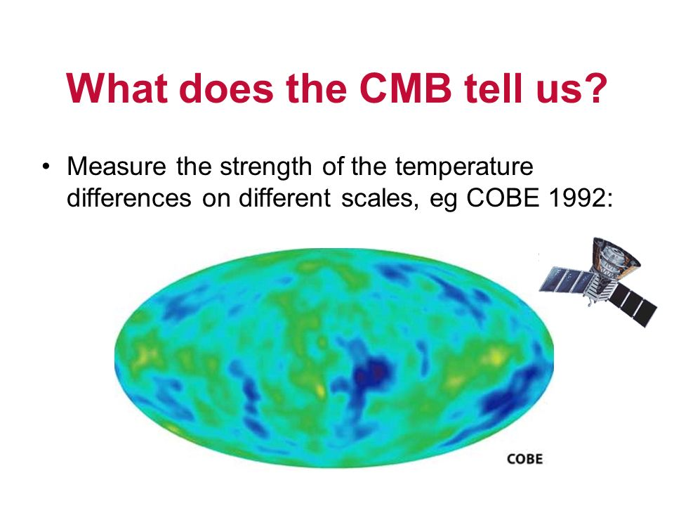 What does the CMB tell us.