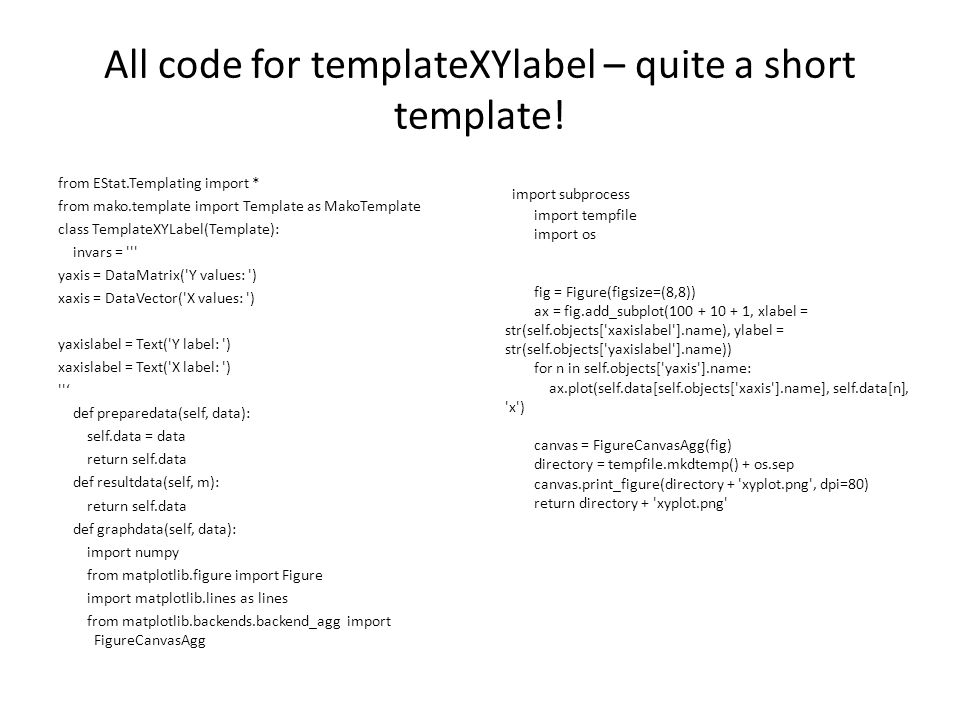 All code for templateXYlabel – quite a short template.