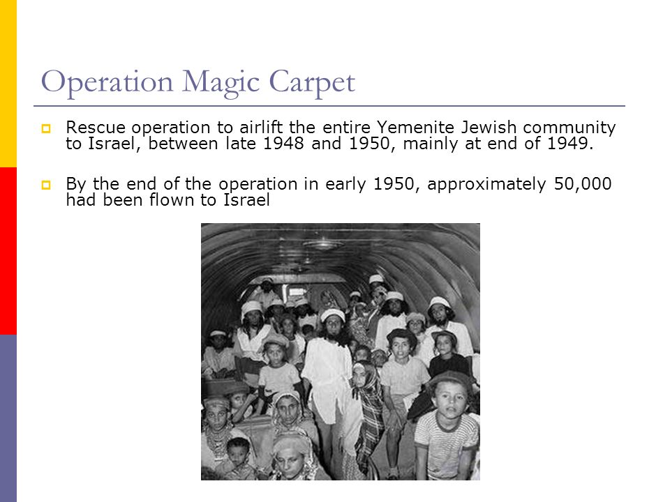 Sixty Years after the Magic Carpet Ride: The Long Run Effect
