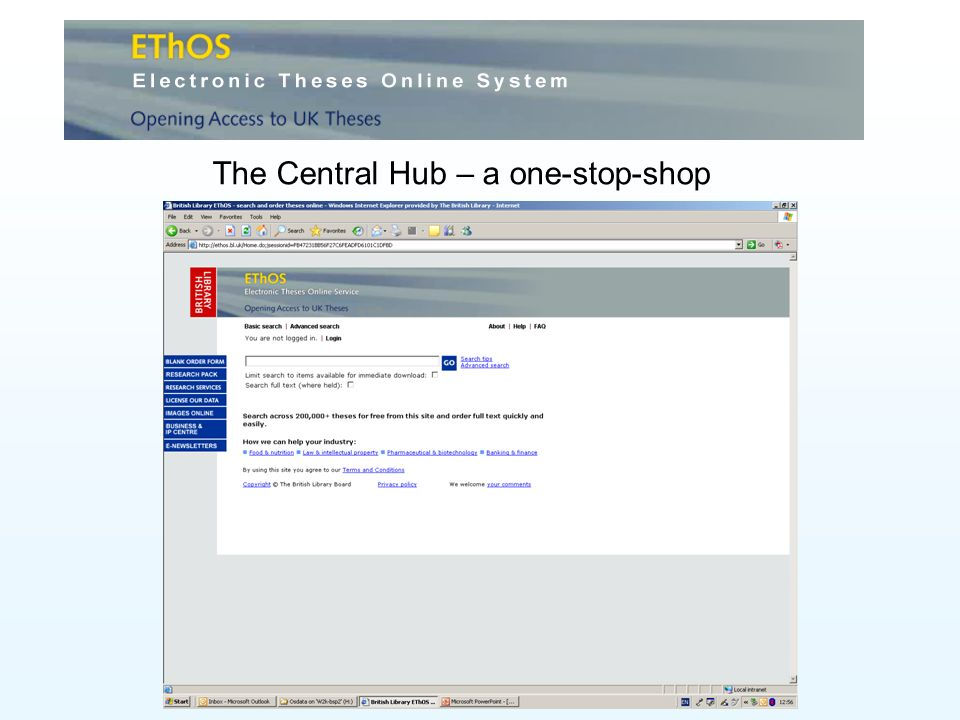 The Central Hub – a one-stop-shop