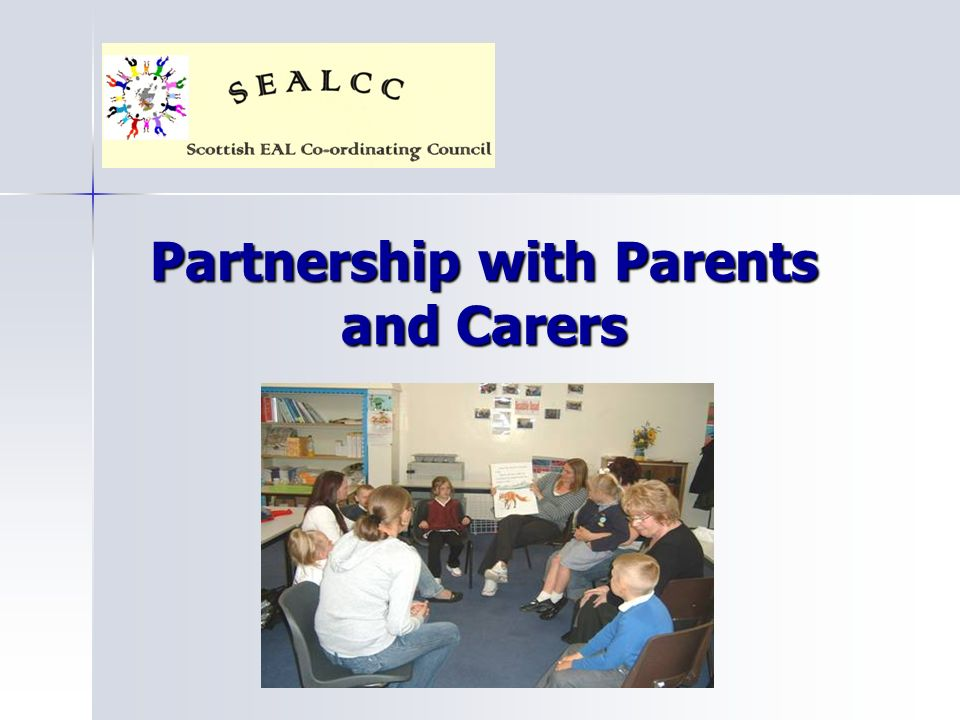 Partnership with Parents and Carers
