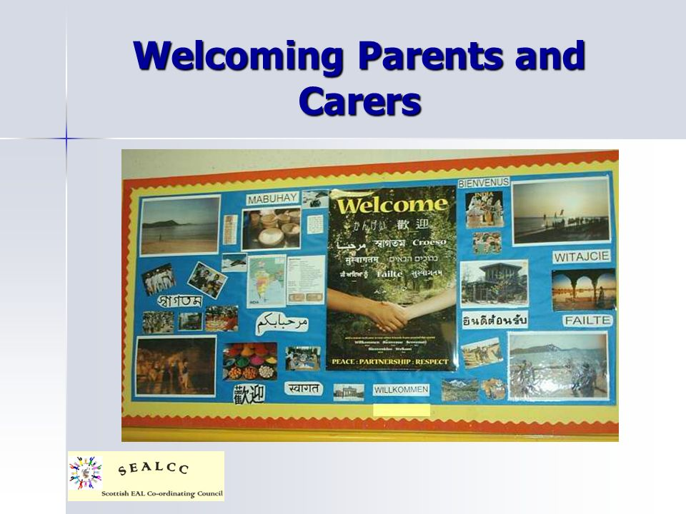 Welcoming Parents and Carers
