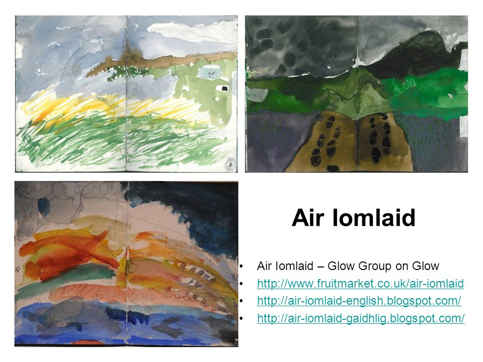 Air Iomlaid – Glow Group on Glow Air Iomlaid