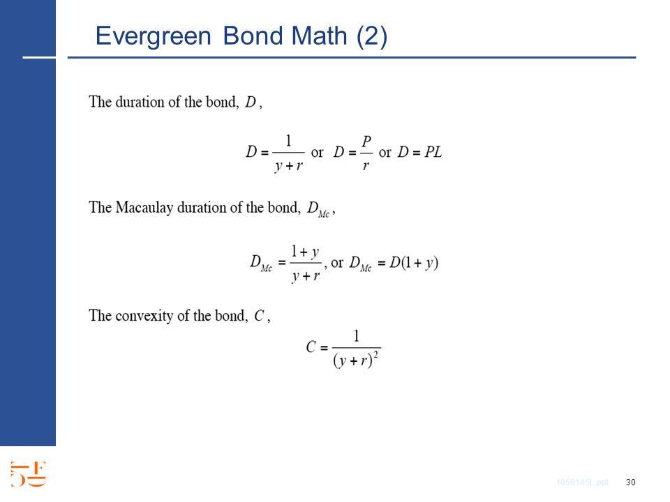 1050145L.ppt 30 Evergreen Bond Math (2)