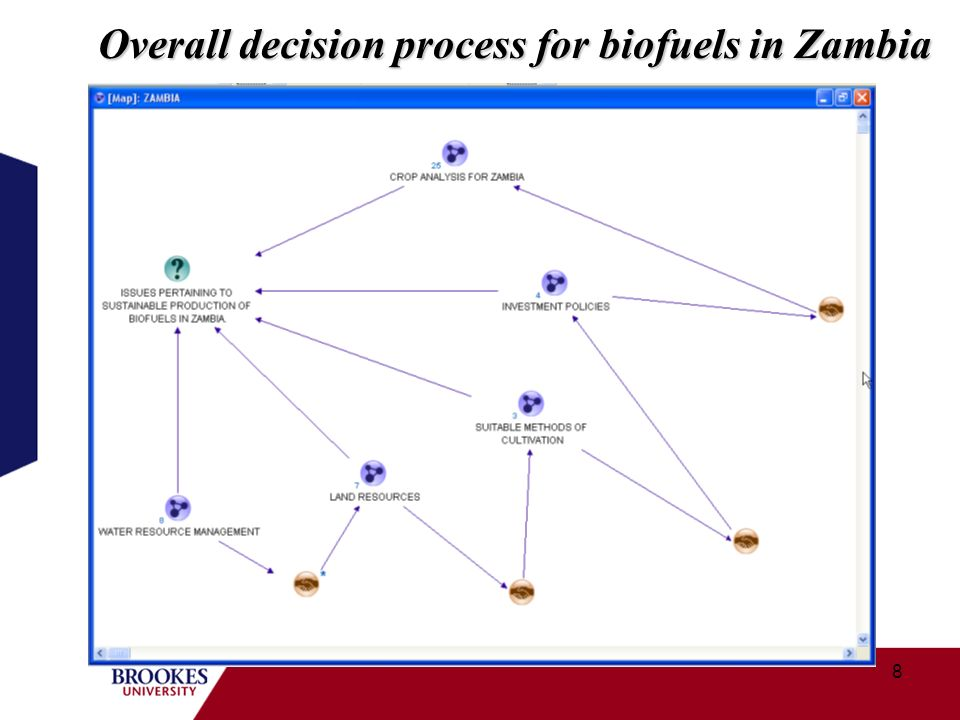 8 Overall decision process for biofuels in Zambia