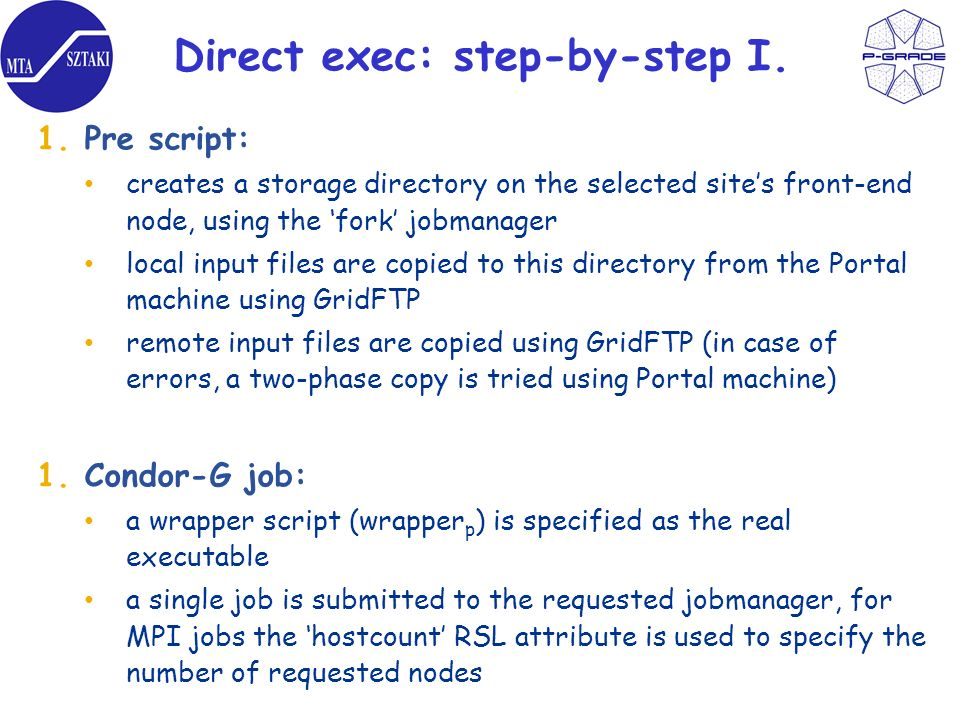 Direct exec: step-by-step I.