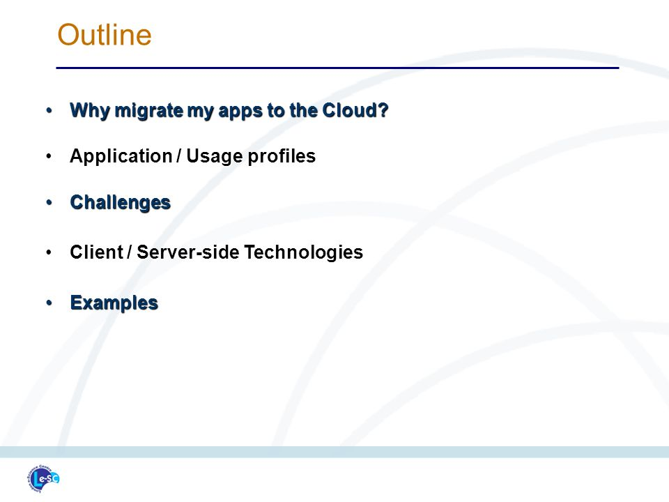 Why migrate my apps to the Cloud Why migrate my apps to the Cloud.