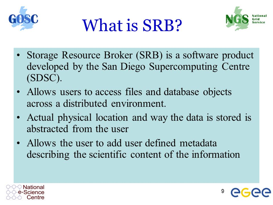 9 What is SRB.