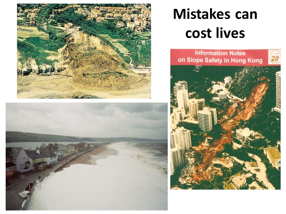 Mistakes can cost lives