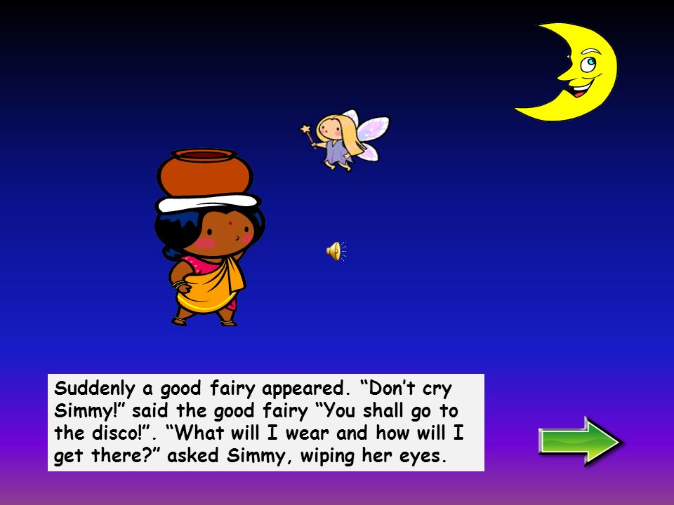 Simmy was so sad that she started to cry. Poor Simmy!