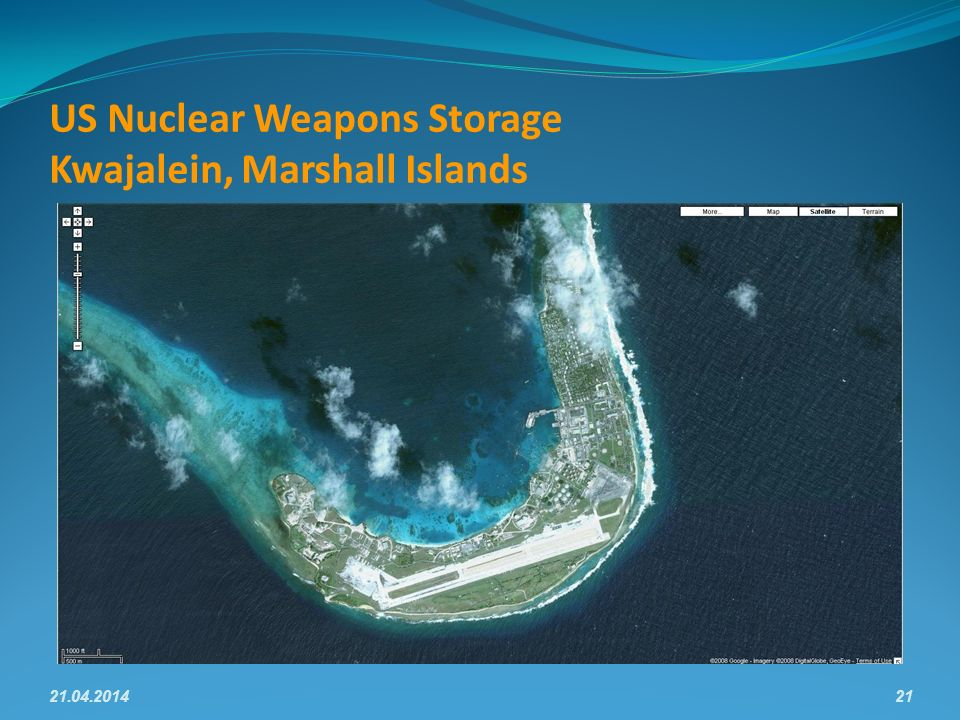 US Nuclear Weapons Storage Kwajalein, Marshall Islands 21.04.201421
