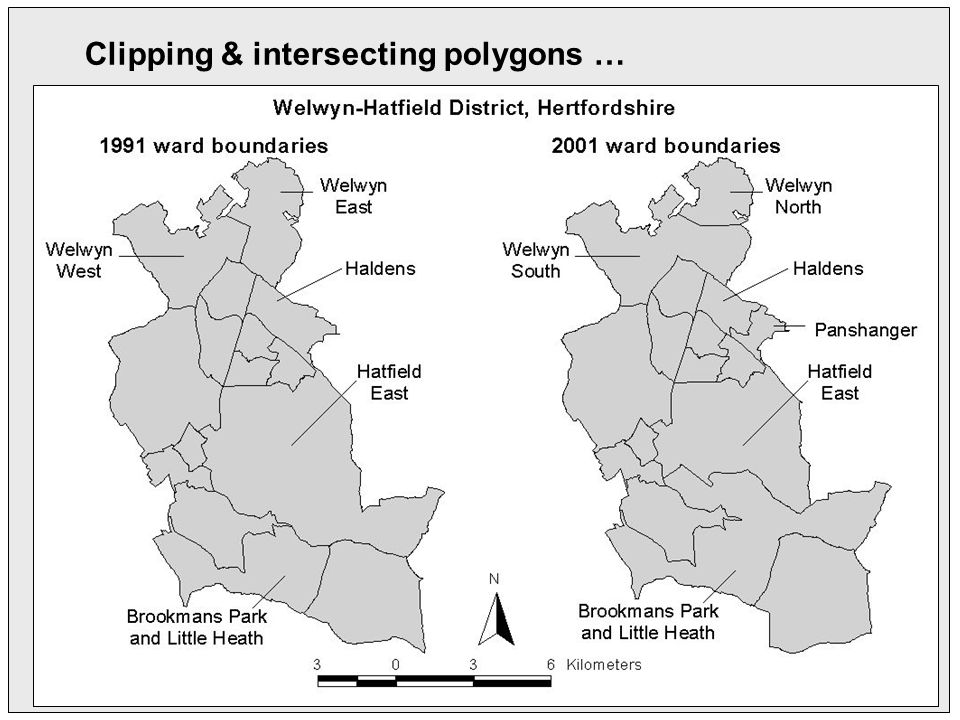 Clipping & intersecting polygons …