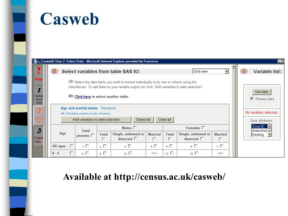 Casweb Available at