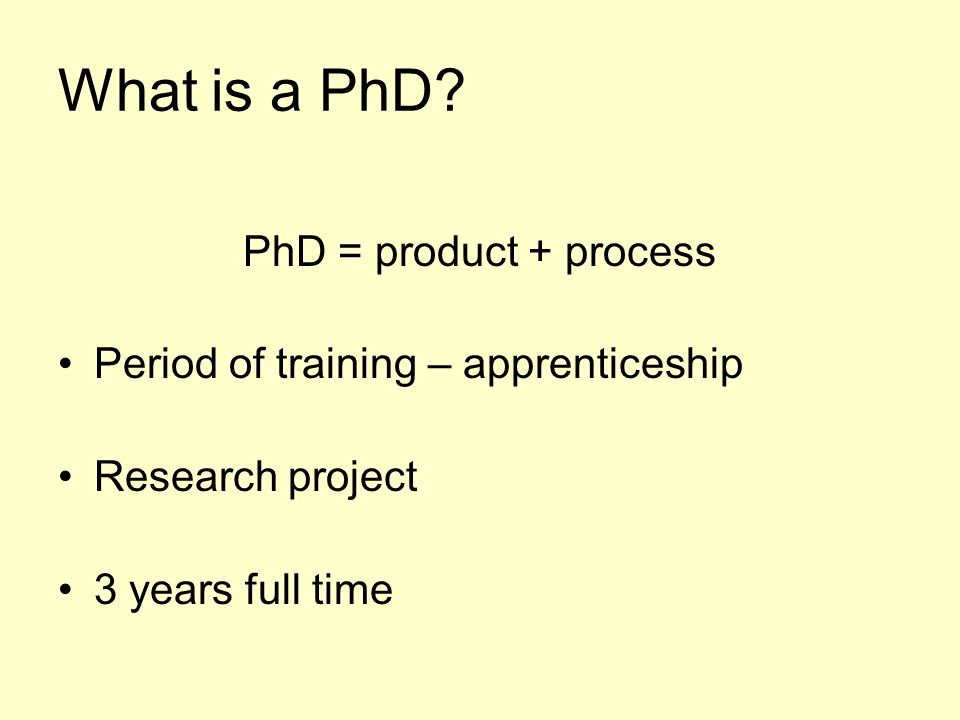 What is a PhD.