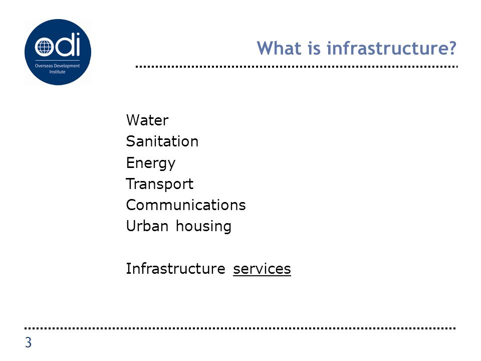 What is infrastructure.