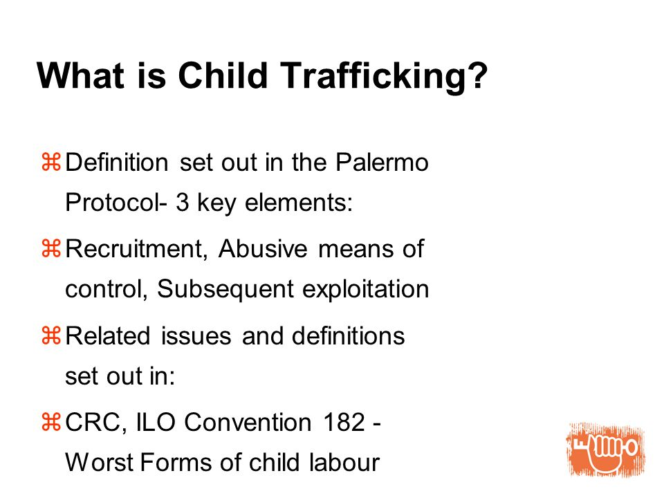 What is Child Trafficking.