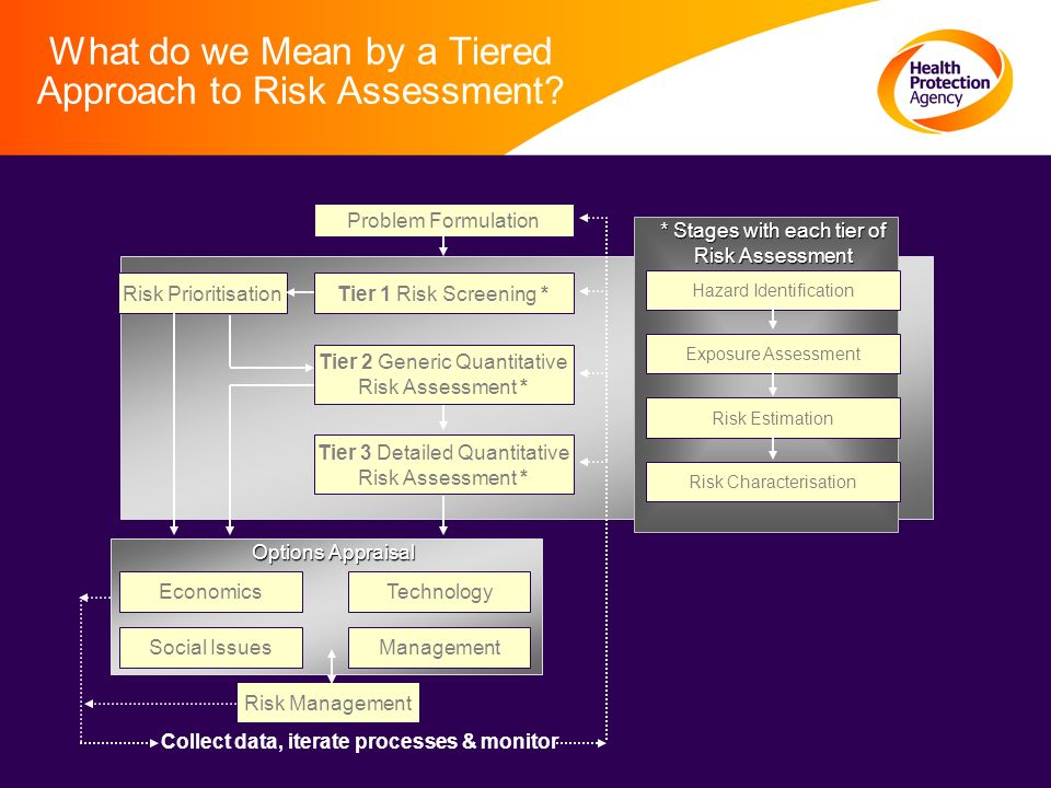 What do we Mean by a Tiered Approach to Risk Assessment.
