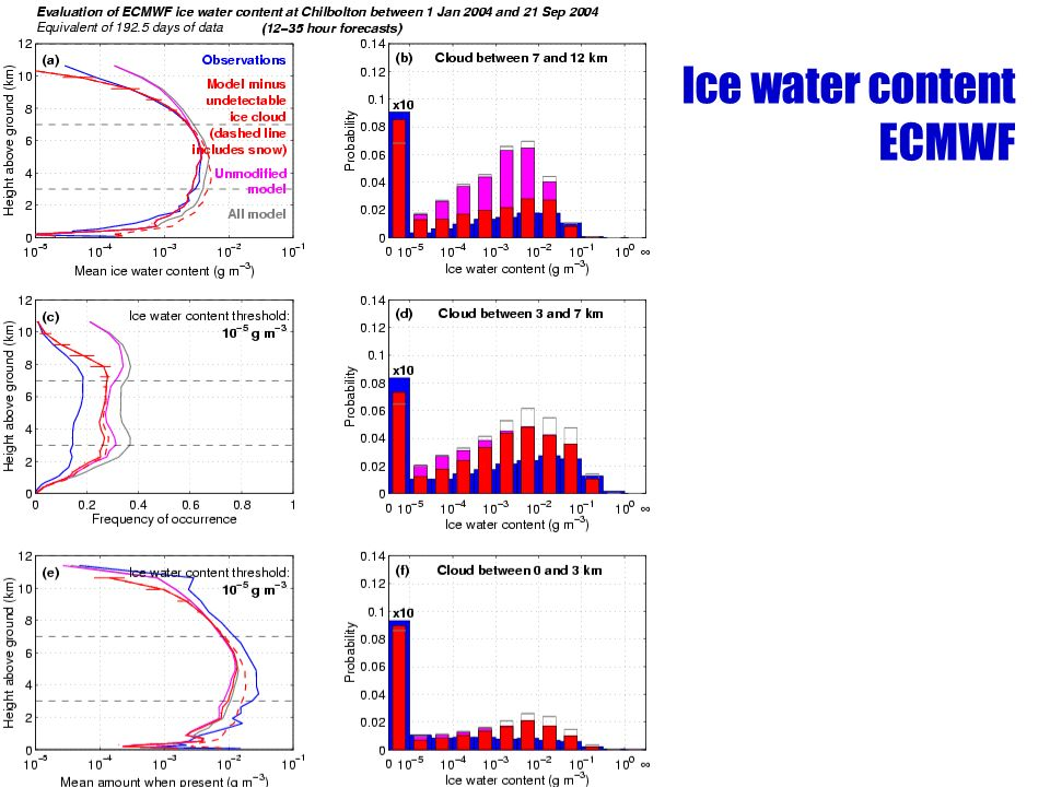 Ice water content ECMWF