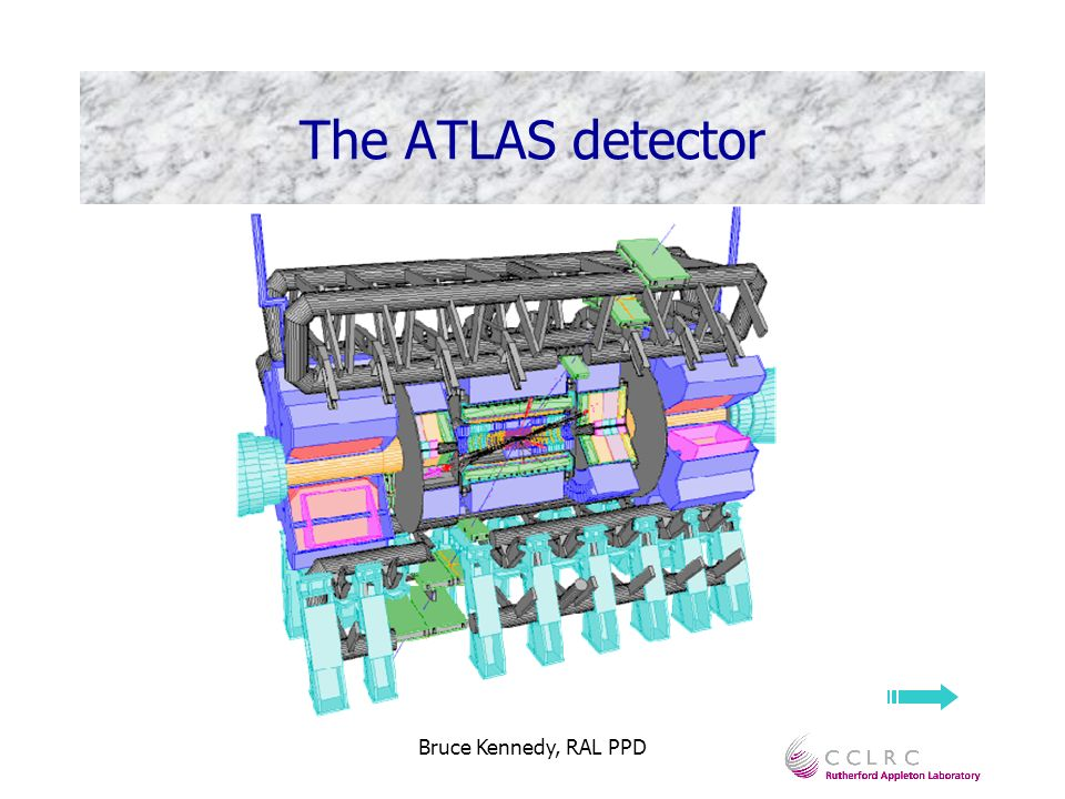 Bruce Kennedy, RAL PPD The ATLAS detector