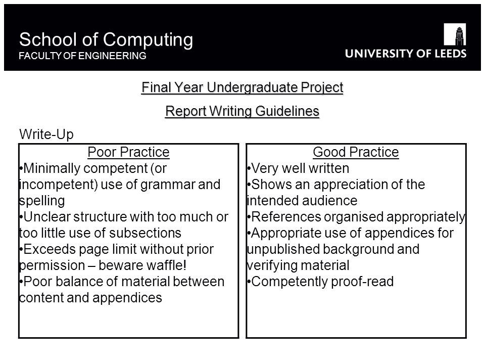 final year undergraduate project report writing guidelines who is rh slideplayer com Written Project Proposal Example Written Project Proposal Example