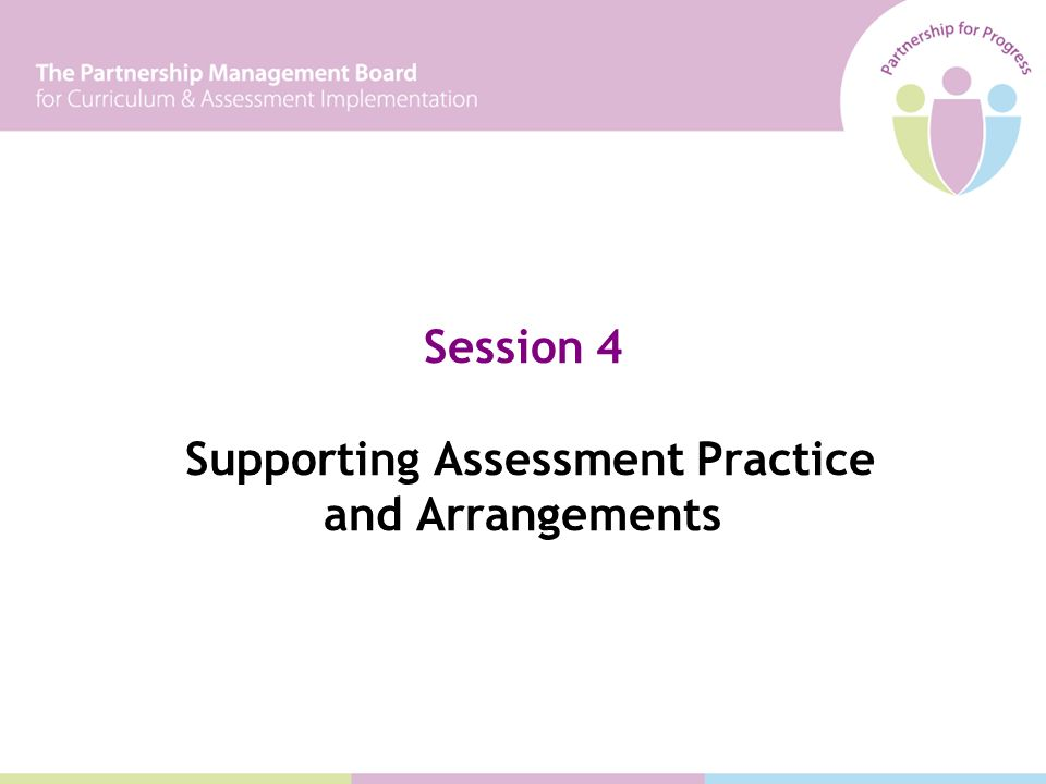 Session 4 Supporting Assessment Practice and Arrangements