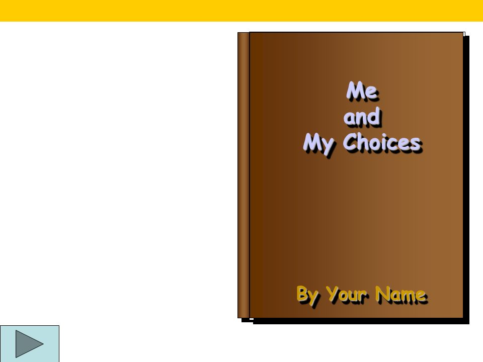 SEN Knowing and Growing Me and My Choices Book