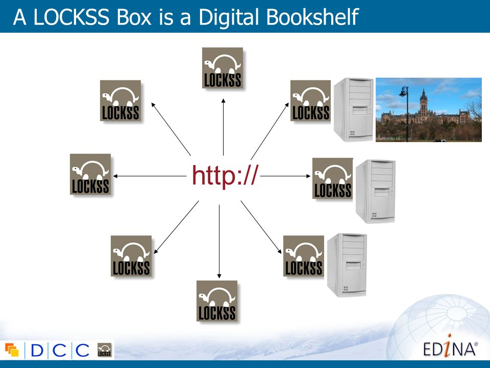 A LOCKSS Box is a Digital Bookshelf http://