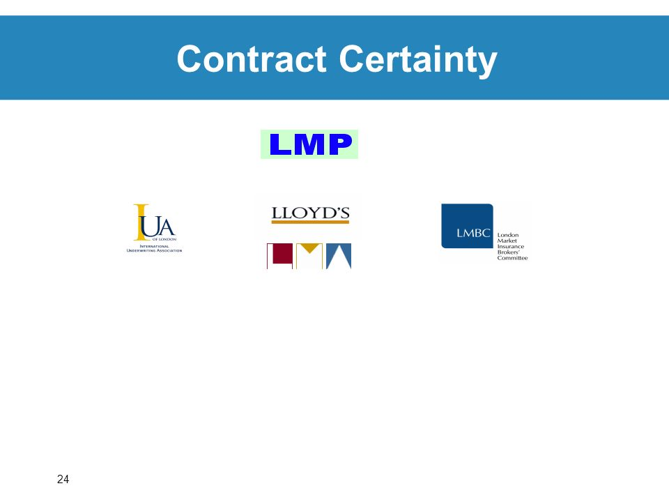 24 Contract Certainty